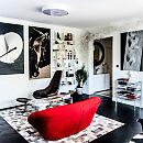 Jak Oni Mieszkają: w tym domu rządzą obrazy