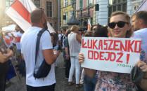 "Protest ""Solidarni z Białorusią""..."