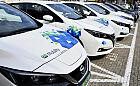 Elektryczne samochody pod dworcem w Gdyni