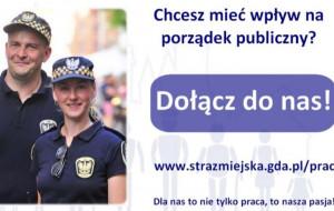 Zgłoś się do służby w gdańskiej Straży Miejskiej