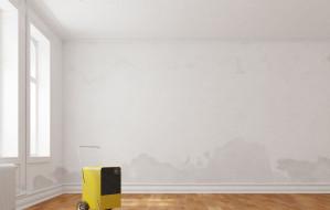 Jak osuszyć mokre ściany i podłogi?