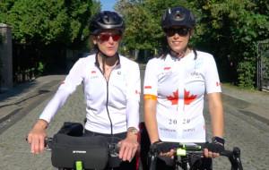 Ambasador Kanady jedzie do Sopotu rowerem