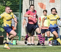 """Pierwszy... Mateusz Mrowca postawił na """"jajo"""". 2. kolejka ekstraligi rugby"""