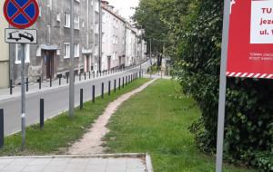 Trawnik czy chodnik i miejsca postojowe? Remont ulicy na Siedlcach budzi kontrowersje