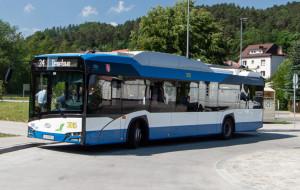 Trolejbus bez szelek pojechał na północ Gdyni