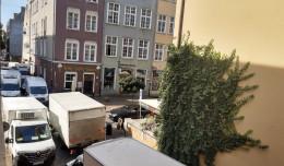 Mieszkańcy kontra samochody w historycznym centrum Gdańska