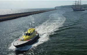 Nowa pilotówka już pracuje w Porcie Gdynia