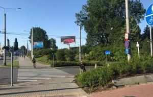 Nowy przejazd dla rowerzystów przy SKM Wzgórze