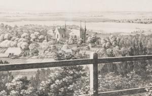 Oliwa w brytyjskim magazynie z 1842 roku