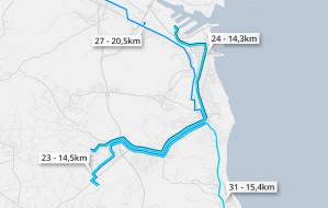 34 kilometry linią nocną. To najdłuższe trasy gdyńskiej komunikacji