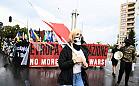 Marsz nacjonalistów i kontrmanifestacja w centrum Gdańska