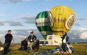 Lecieliśmy balonem nad Gdańskiem. Balloon Festival trwał cały weekend