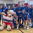 Rywalizacja koszykarek Arki Gdynia z Politechniką Gdańsk ze zmiennym szczęściem