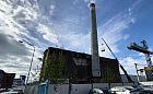 Komin stoczniowej elektrociepłowni w Gdyni do rozbiórki