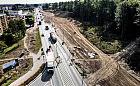 Postęp prac przy rozbudowie ul. Kartuskiej