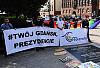 Sobotnie manifestacje w centrum Gdańska