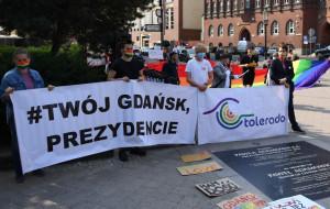 Koniec manifestacji w centrum Gdańska