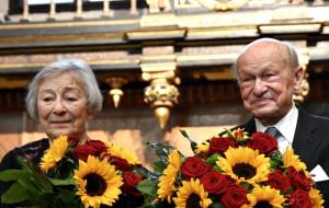Małżeństwo Kiszkisów honorowymi obywatelami Gdańska