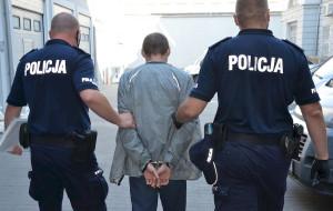 Policyjny pościg za poszukiwanym listem gończym