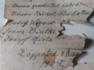 Tajemniczy list w butelce odczytany