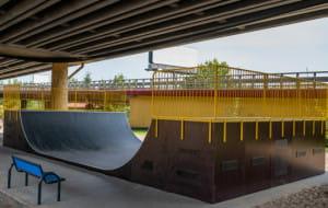 Gdynia: skatepark pod estakadą otwarty