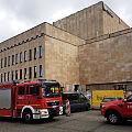 Interwencja strażaków w Teatrze Wybrzeże