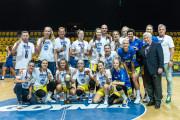 VBW Arka Gdynia pokonała Politechnikę Gdańską. Koszykarki dostały zaległe medale