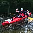 Jacek Pałubicki przepłynął ponad 2000 km kajakiem. Zbiórka na Dom Samotnej Matki