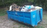 Mieszkańcy posprzątali las w Małym Kacku