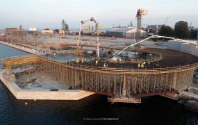 Port Gdynia. Rozbudowa ro-ro w planach i postępy prac na promowym