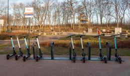Gdańsk reguluje zasady parkowania współdzielonych hulajnóg