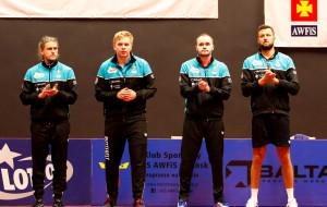 Lotto Superliga większa i szybsza. Tenisiści stołowi AZS AWFiS Balta Gdańsk punktują