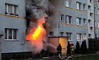 Środowy pożar na Żabiance był wynikiem podpalenia