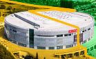 Ergo Arena: hala na granicy dwóch stref