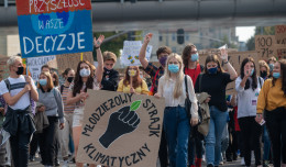 Młodzieżowy Strajk Klimatyczny przeszedł przez Wrzeszcz