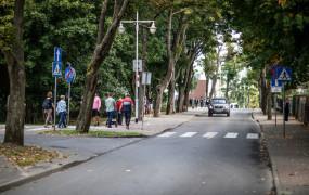 Okolica molo w Orłowie nie dla samochodów