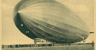 Zeppelin jednak przeleciał nad Polską