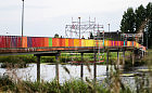 Znika kolorowa instalacja nad Opływem Motławy