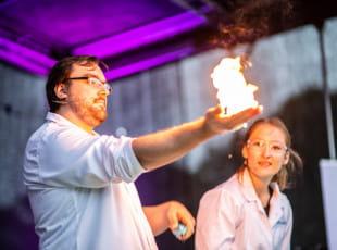 Europejska Noc Naukowców w Hevelianum pełna wrażeń