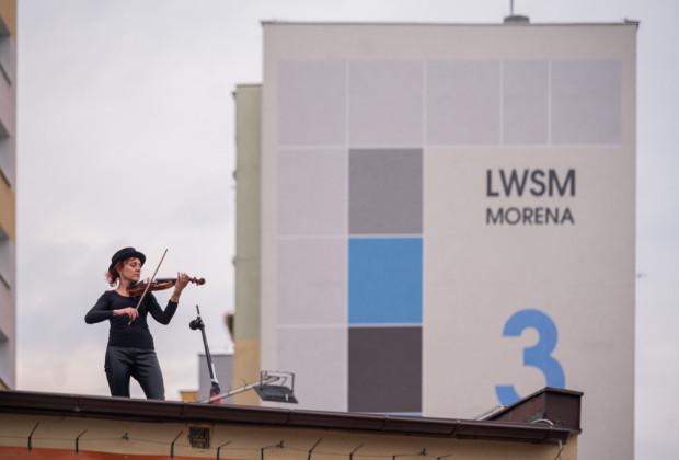 Koncert skrzypcowy w zaskakującej scenerii