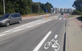 Urwany pas rowerowy i co dalej? Policja wyjaśnia