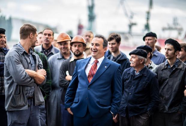 Zdjęcia do filmu Gierek w Gdańsku