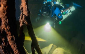 Trójmiejscy nurkowie odnaleźli wrak niemieckiego statku z II wś