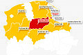 Sopot w czerwonej strefie COVID-19, Gdańsk i Gdynia w żółtej