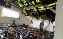 Pożar zniszczył ich dom. Mieszkają na 12...