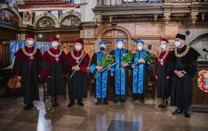 Uniwersytet Gdański nadał trzy symboliczne tytuły doktora honoris causa
