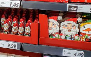 Świąteczne mikołaje już w sklepach