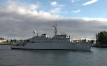 Siedem okrętów bojowych NATO zacumowało w...