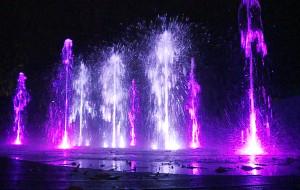 Nowe fontanny w Gdyni pełne kolorów