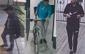 Trzej złodzieje rowerów z Wrzeszcza poszukiwani